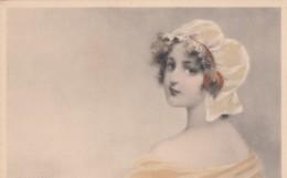 Kratki(?) Artist Signed Image Beautiful Woman, Fashion, C1900s/10s Vintage Postcard - Illustrators & Photographers