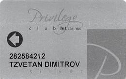 HIT Perla / Korona / Park Casinos - Slovenia - Slot Card .....[FSC]..... - Casino Cards