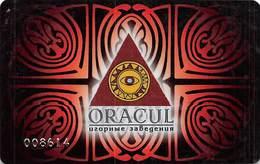 Oracul Casino - Krasnodar Russia - Slot Card .....[FSC]..... - Casino Cards