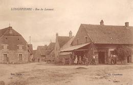 71- CPA  LONGEPIERRE Rue Du Laveaut (maréchal Ferrand) RARE - Francia