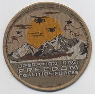 Tissu : OPERATION IRAQI - FREEDOM - Ecussons Tissu