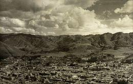 Peru, CUZCO, Vista Parcial (1910s) RPPC Postcard - Peru