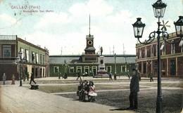 Peru, CALLAO, Monumento San Martin (1910s) Postcard - Peru