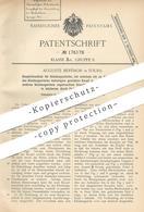 Original Patent - Auguste Berthon , Tours , 1905 , Knopfverschluss Für Kleidung | Knopf , Knöpfe , Schneider , Mode !!! - Historische Dokumente