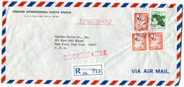 REDGISTRED Letter To USA 1974.BARGAIN.!! - Postwaardestukken