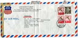 Letter To USA 1974.BARGAIN.!! - Postwaardestukken