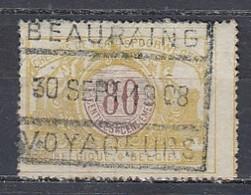 Tr 39 Gestempeld Beauraing Voyageurs - Railway