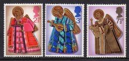 GREAT BRITAIN GB - 1972 CHRISTMAS SET (3V) FINE MNH ** SG 913-915 - 1952-.... (Elizabeth II)