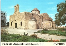 Panayia Angeloktisti Church, Kiti, Cyprus - Cipro