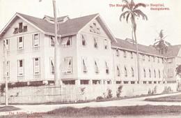 British Guiana, GEORGETOWN, The Manget Block, Public Hospital (1910s) Postcard - Postcards