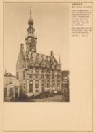 Nederland - 1930 - 7,5 Cent Fotokaart G200m - Stadhuis Veere - Ongebruikt - Postwaardestukken