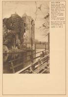 Nederland - 1930 - 7,5 Cent Fotokaart G200k - Velsen, Ruïne Van Slot Brederode - Ongebruikt - Postwaardestukken