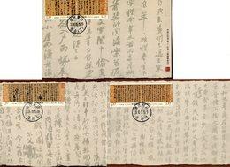 CHINA 2010 Max.Cards(3)BARGAIN.!! - Postkaarten