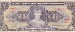 Brésil - Billet De Banque 5 Centavos Novo 1966/67 - Brésil