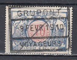 Tr 38 Gestempeld Grupont Voyageurs - Railway