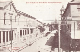 British Guiana, GEORGETOWN, New North Street From Water Street (1910s) Postcard - Other