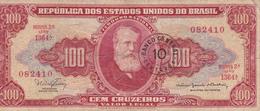Brésil - Billet De Banque 10 Centavos Novo 1966/67 - Brésil