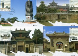 CHINA 2009 Max.Cards(6).BARGAIN.!! - Postkaarten