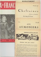 Scoutisme FEUX DE FRANCE Novembre 1946 Avec De Nombreux Supplements ( Voir Description) - Journaux - Quotidiens