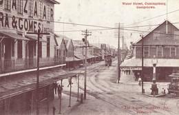 British Guiana, GEORGETOWN, Cumingsburg, Water Street, Tram (1910s) Postcard - Postcards
