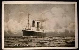 TRANSATLANTICI - CARMANIA - Barche