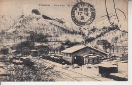 VILLEFORT - Cure D'Air - Gare En Temps De Neige - Villefort