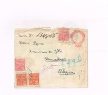 Entier Postal à 200 Reis.Expédié à Bruxelles. 2ème Choix. - Entiers Postaux