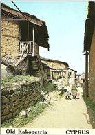 Village Scene, Old Kakopetria, Cyprus - Chypre