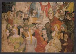 PO103/ Andrea ORCAGNA, *Le Jugement Dernier - Giudizio Universale, Particolare, Eletti*, Firenze, Chiesa Di S. Maria Nov - Peintures & Tableaux
