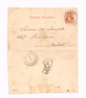 Entier Postal à 3 Centavos.Usage Local à Buenos-Aires. - Enteros Postales
