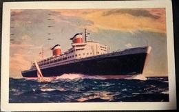 TRANSATLANTICI - NEW S.S. UNITED STATES - Barche