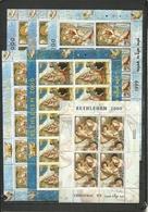 PALESTINE  1999 Religious Painting, Christmas, Bethlehem, Giotto Full Set Of  6 Sheetlets Perf. Rare! - Religie