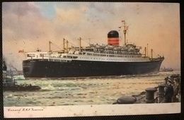 TRANSATLANTICI - RMS IVERNIA - Barche