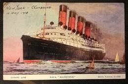 TRANSATLANTICI - RMS MAURETANIA - Altri