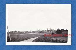 Photo Ancienne Snapshot - CHATILLON Sur MARNE - Vue Vers La Commune - 14 Septembre 1936 - Places