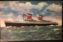 TRANSATLANTICI - S.S. AMERICA - Barche