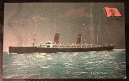 TRANSATLANTICI - S.S. CAMPANIA - Barche