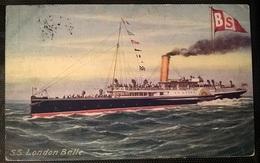 TRANSATLANTICI - S.S. LONDON BELLE - Barche