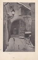 AK Künstlerkarte - Winternacht - H. Müller - Würzburg - 1936 (40534) - Künstlerkarten