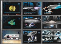 BF85 - SERIE COMPLETE 300 CARTES SKYBOX - STAR TREK 30 YEARS SERIES - Star Trek