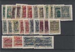 Fiume ,colonie Italiana ,26 Pezzi Usati Compreso Espressi ,splendidi - Fiume