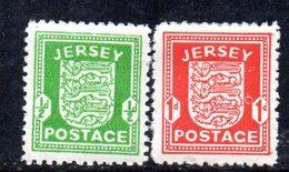 APR210 - JERSEY 1941 , La Serie Nuova * Dell'occupazione Tedesca  (2380A) . - Jersey