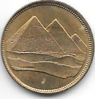 Egypte 1 Piastres  1984  Km 553.1     Unc - Egitto
