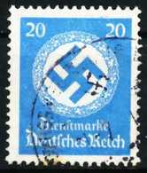 DEUTSCHES-REICH DIENST Nr 140 Gestempelt X643176 - Dienstpost