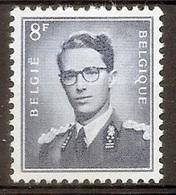BELGIE Boudewijn Bril * Nr 1071a * Postfris Xx * WIT  PAPIER - 1953-1972 Lunettes