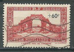 Algérie YT N°167 Lambèse Arc De Triomphe Surchargé Oblitéré ° - Oblitérés