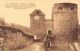 BOUILLON - Intérieur Du Château - La Tour D'Autriche Et La Tour De L'Horloge - Bouillon