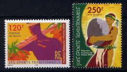 POLYNESIE - 625/626** - LES SPORTS TRADITIONNELS - Neufs