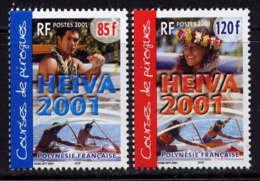 POLYNESIE - 645/646** - HEIVA 2001 - Neufs