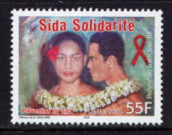 POLYNESIE - 650** - PREVENTION DU SIDA - Neufs